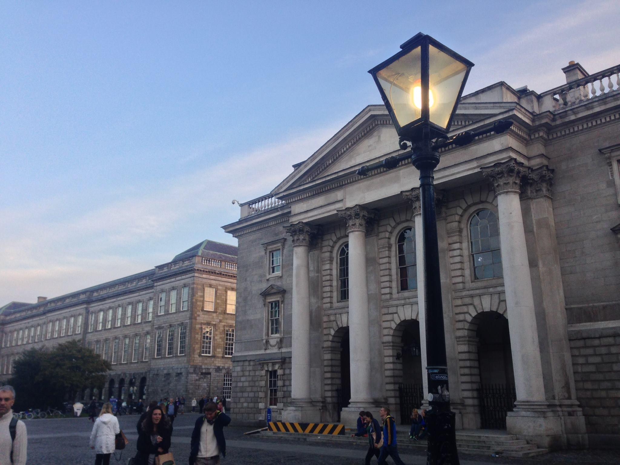 Một trong những con phố chính ở Dublin