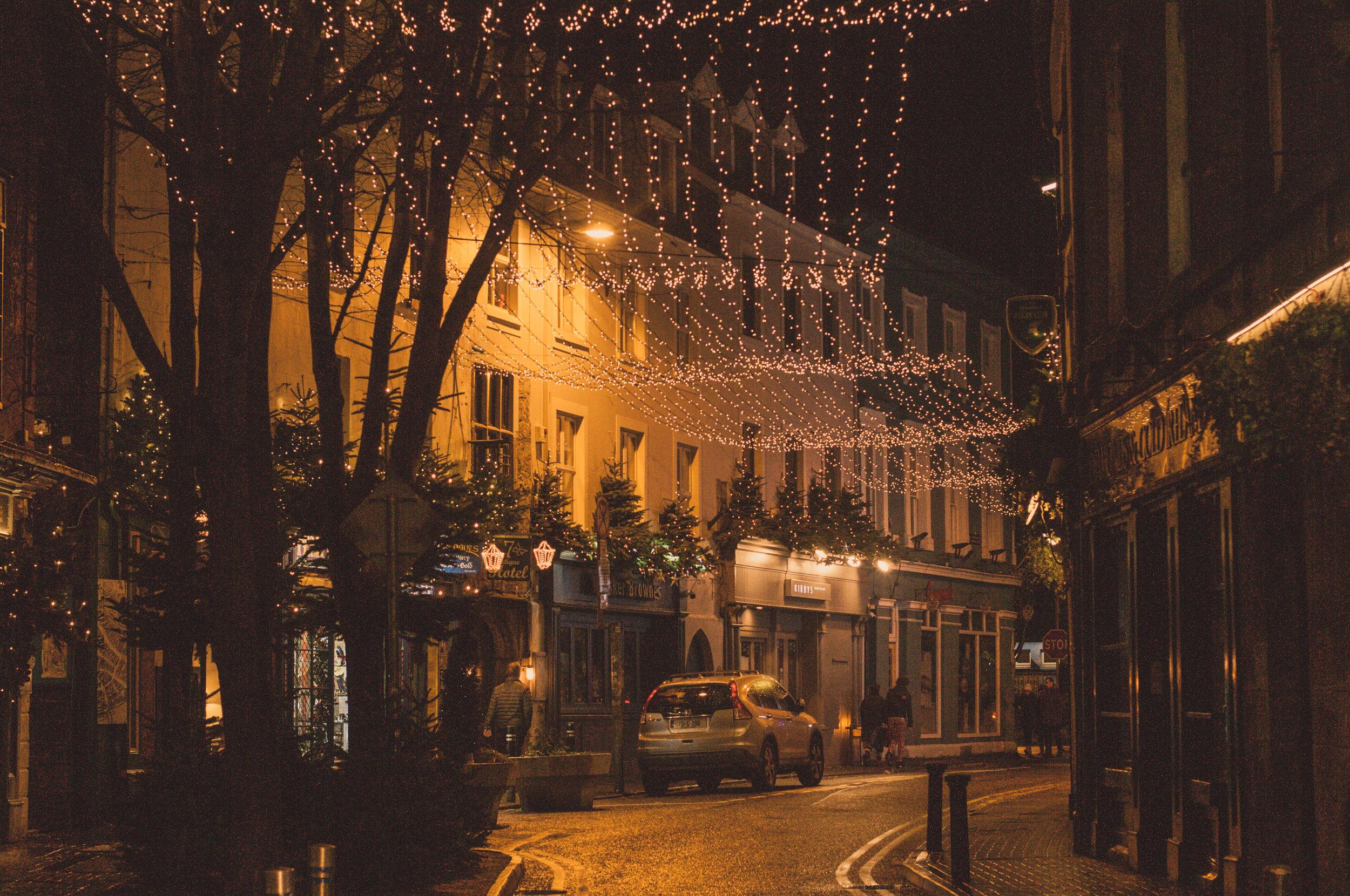 Một góc phố ở Galway