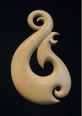 Two Matau Aka designs
