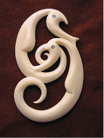 A pair of sea horses