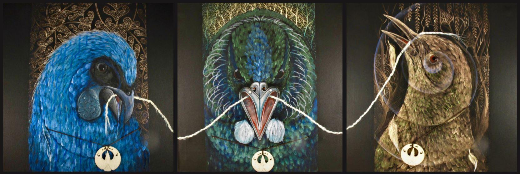 Nga Hau Ngakau Exhibit — Jade & Bone