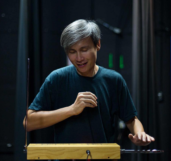 """Ng Chor Guan - Composer, Theremin Player 
