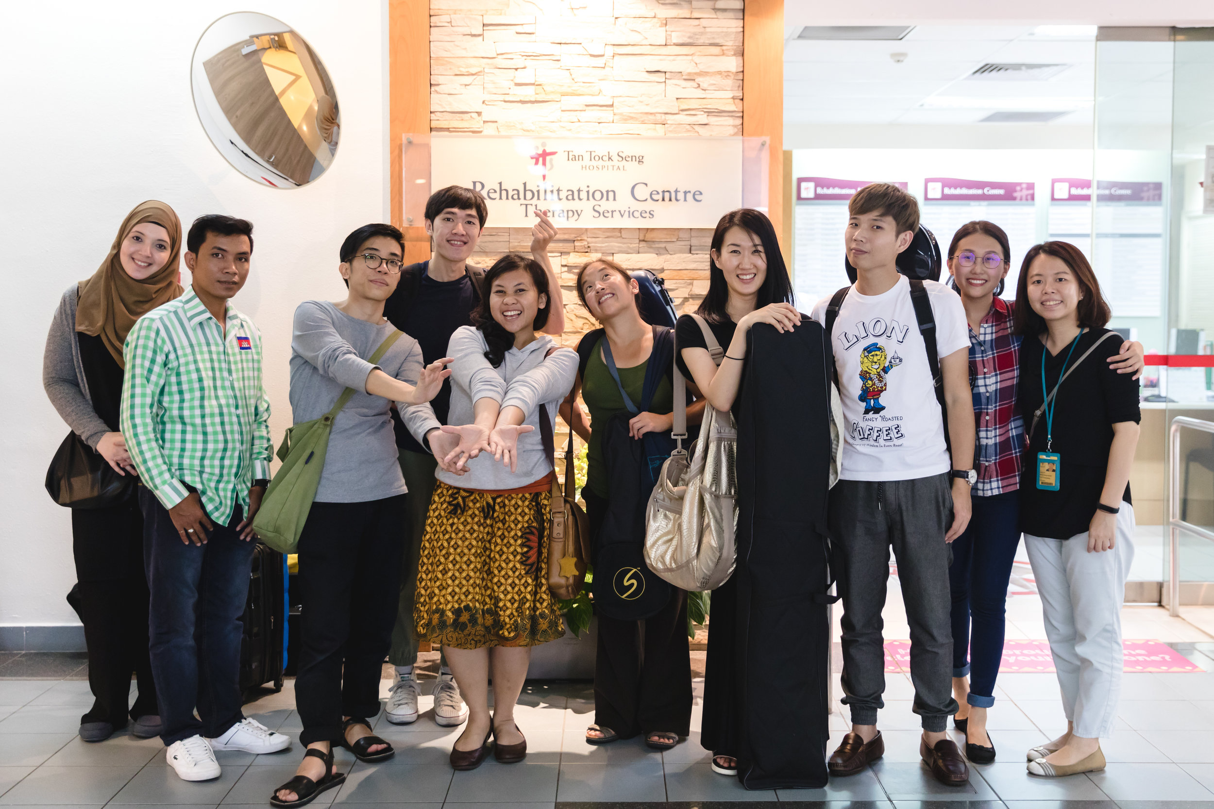 TTSH Rehab Centre Group Photo