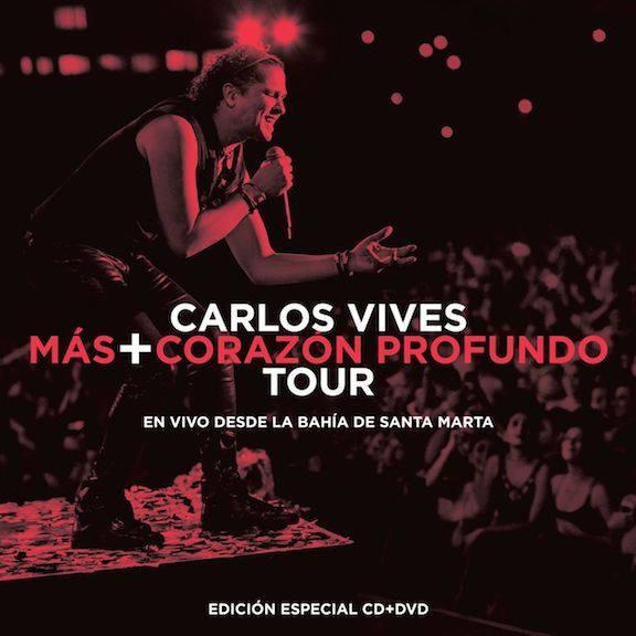 2015Artist: Carlos VivesAlbum: Live Album ¨Mas+Corazón Profundo Tour (En Vivo Desde La Bahía De Santa Marta)¨ CD + DVD Mixing Engineer -