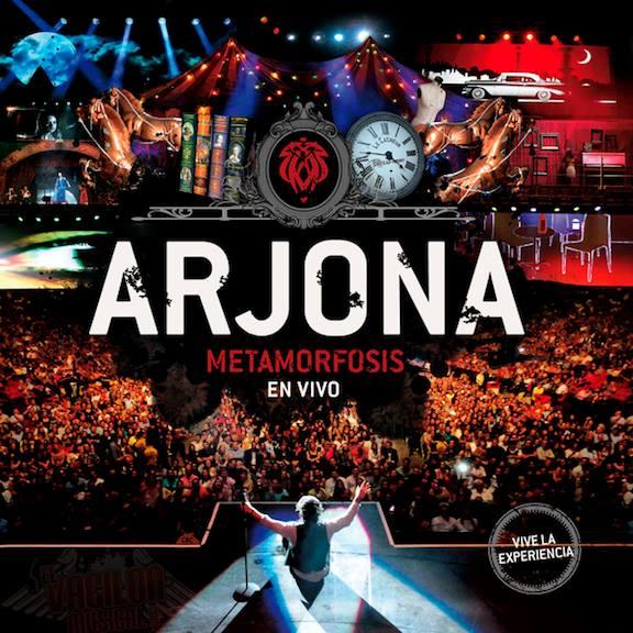 2014Artist: Ricardo ArjonaAlbum: Metamorfosis En VivoAssistant Engineer / Mixing Engineer -
