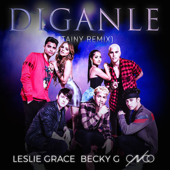 2018Artist: Leslie Grace / Becky G / CNCOSingle: Diganle REMIXMixing Engineer -
