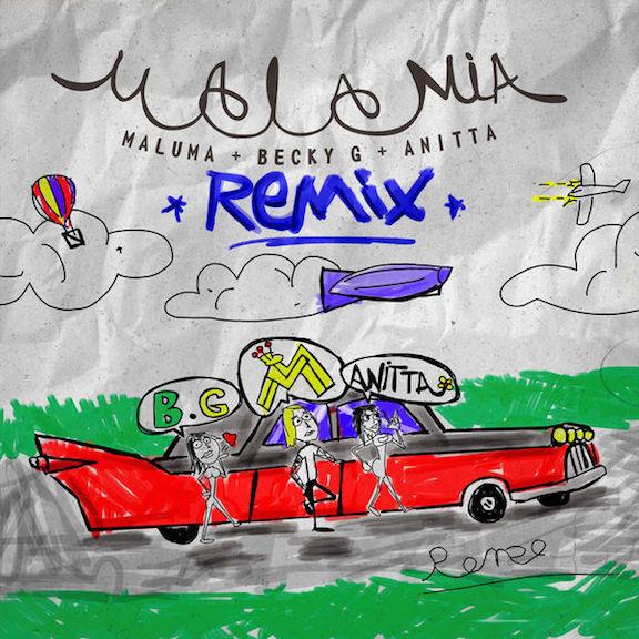 2018Artist: Maluma / Becky G / AnittaSingle: Mala Mia REMIXMixing Engineer -