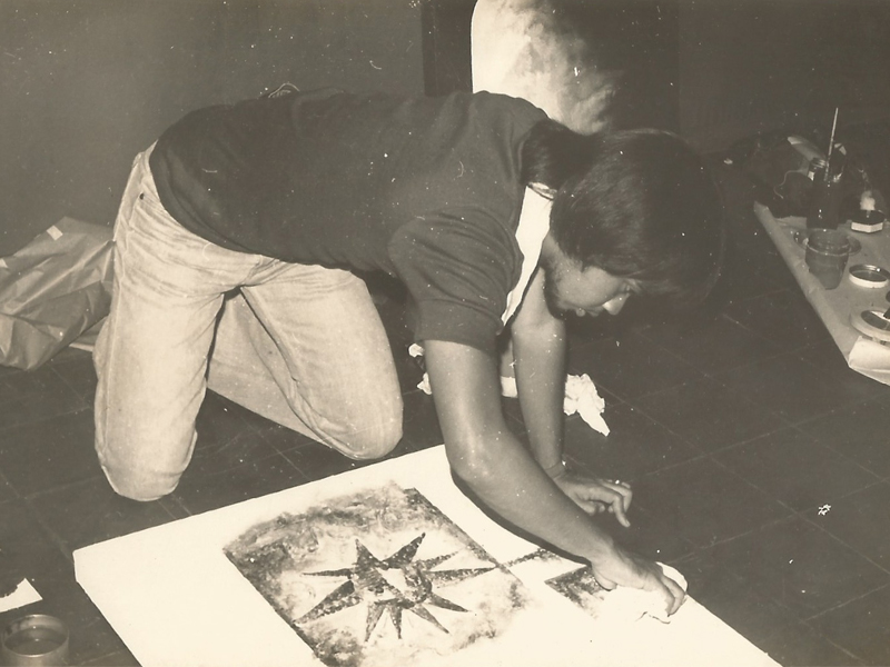U.E. On-the-Spot Painting Contest. 1976