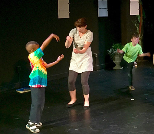 Improv for Kids! - Saturday Mornings & Afternoons, small classes in different age groups from 3 - 14