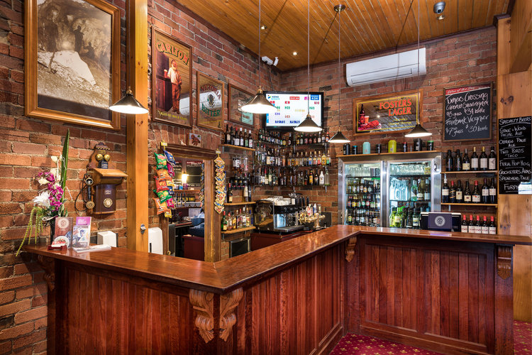 The Boundary has a great selection of beers,wine and ciders.