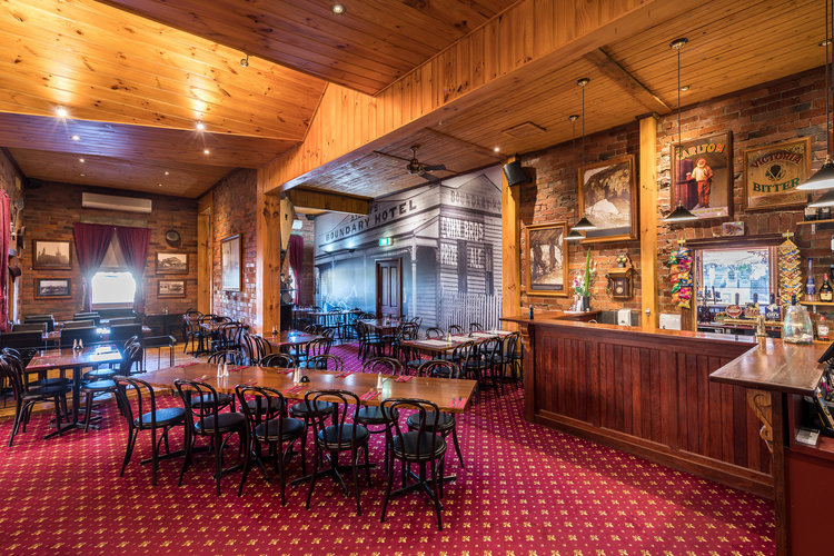 Want a great meal within walking distance? - A quick 7-minute walk from the Oval and you're at the Old Boundary Hotel. Great food and cold beer.