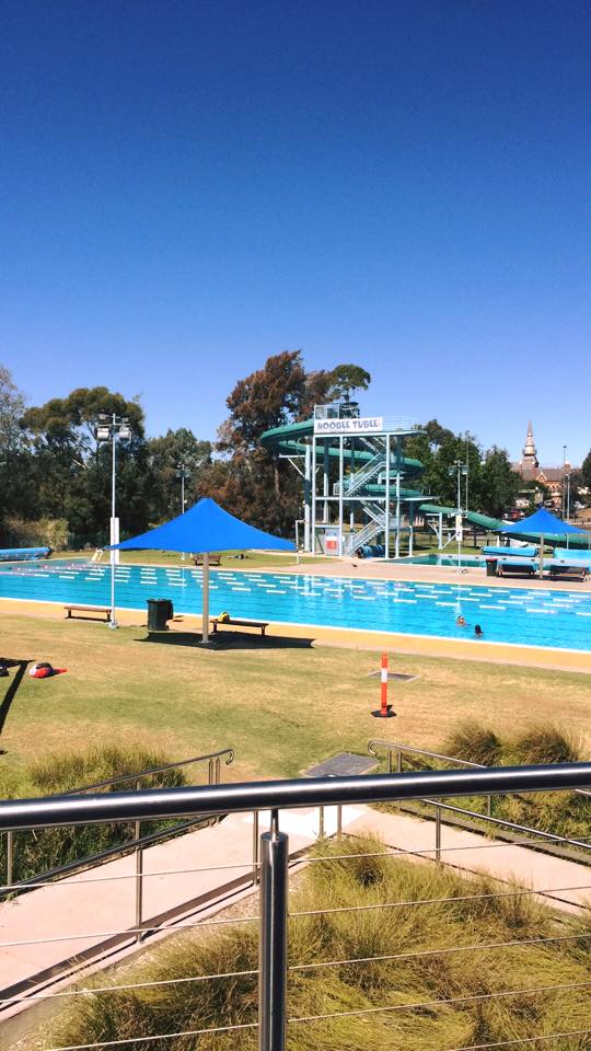 Picture from the entrance. Photo from Bendigo Aquatic Centre  Facebook Page