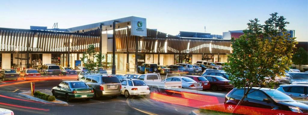 The front entrance of the Bendigo Marketplace. Photo Credit: www.bendigomarketplace.com.au