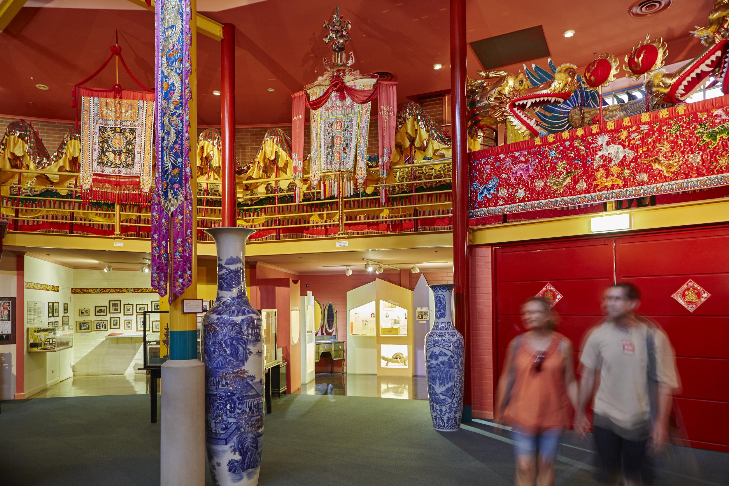 Inside the Chinese Museum. Photo Credit: Explore Bendigo & Bendigo Tourism