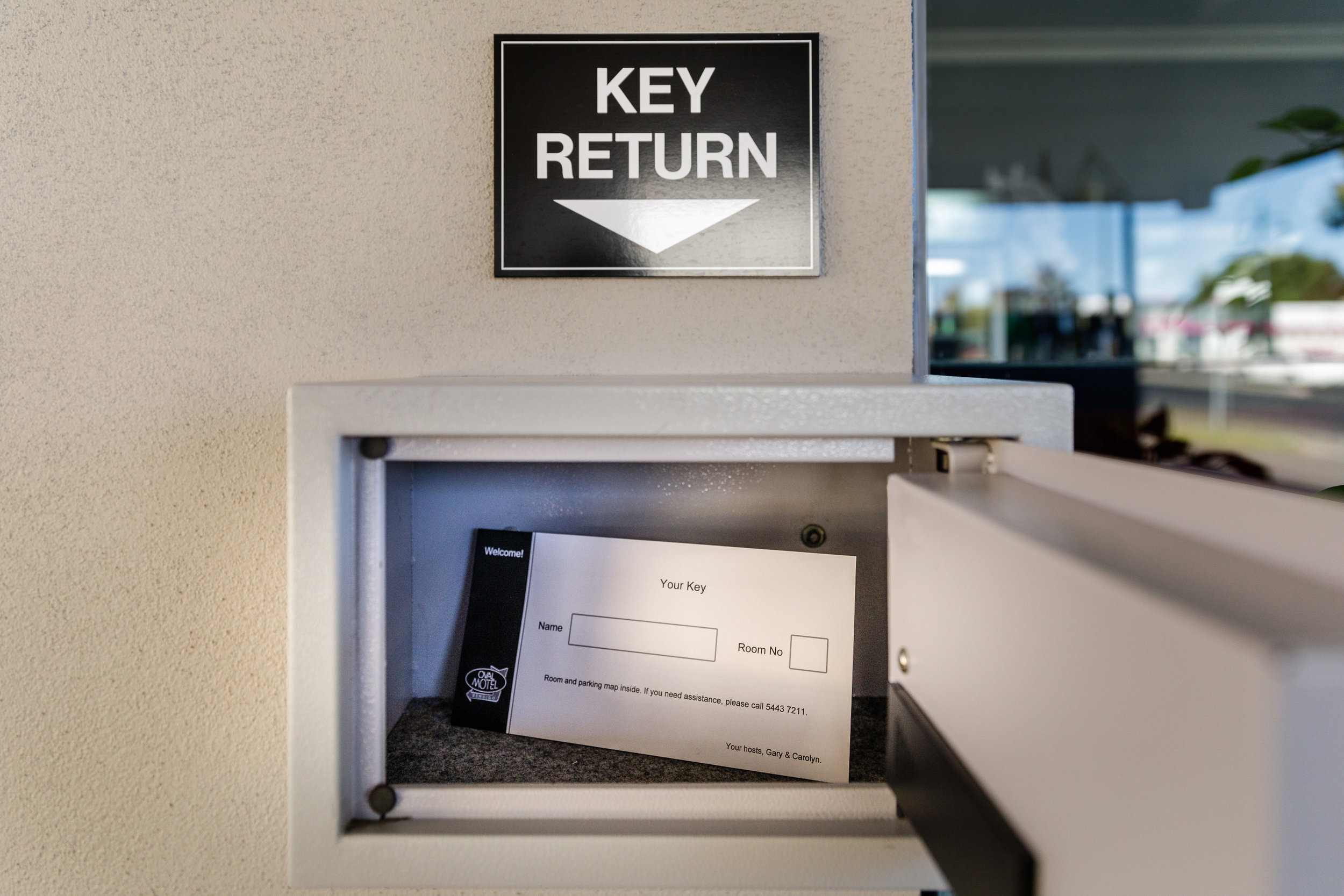 Convenient Key Return for Early Check Outs