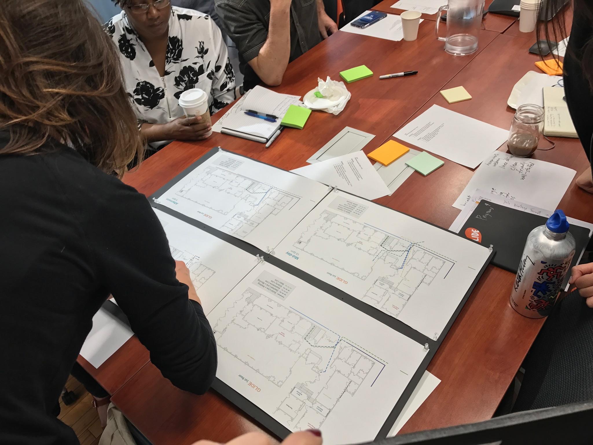 At the Co-Design workshop