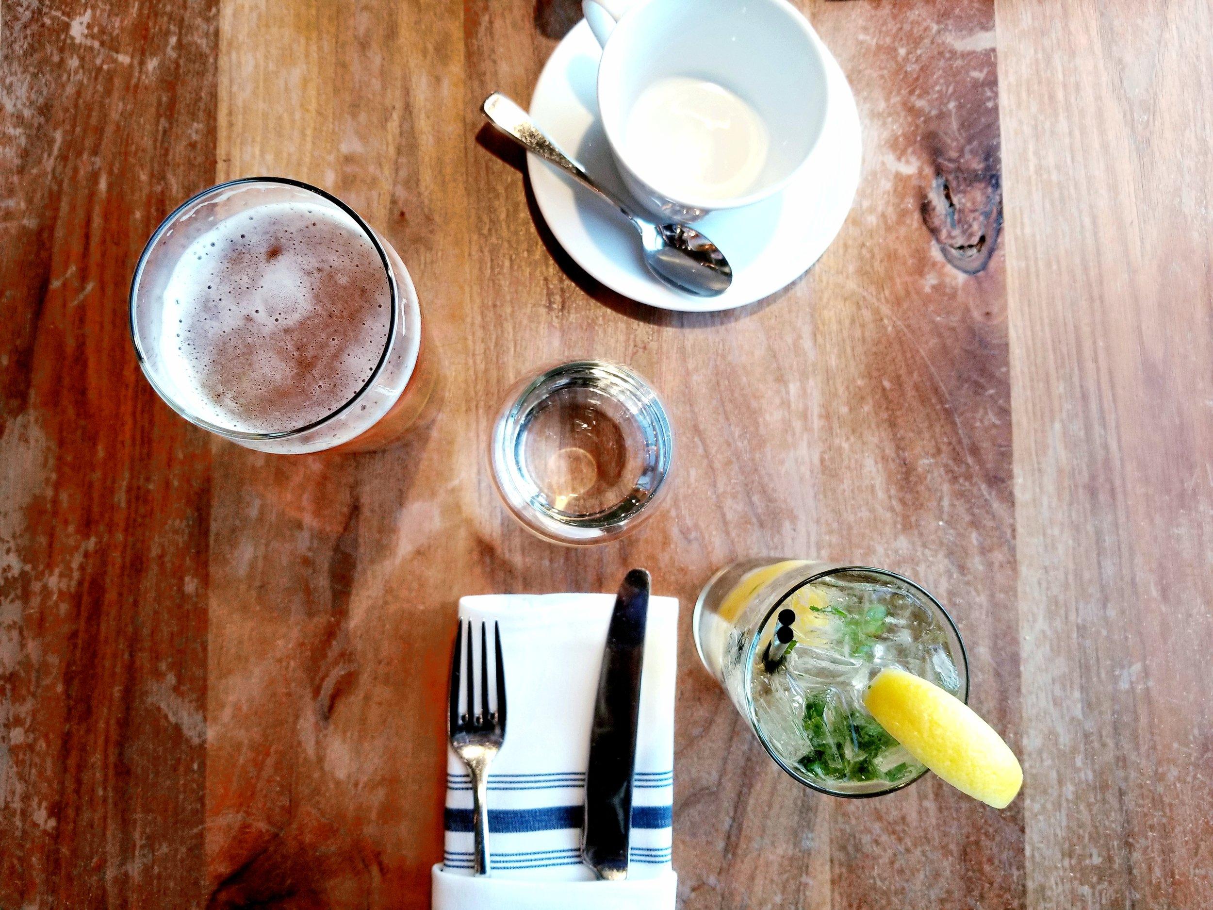 Beau's  Lugtread, Chamomile Flower Tea, GINger Fizz   ebbony&lune