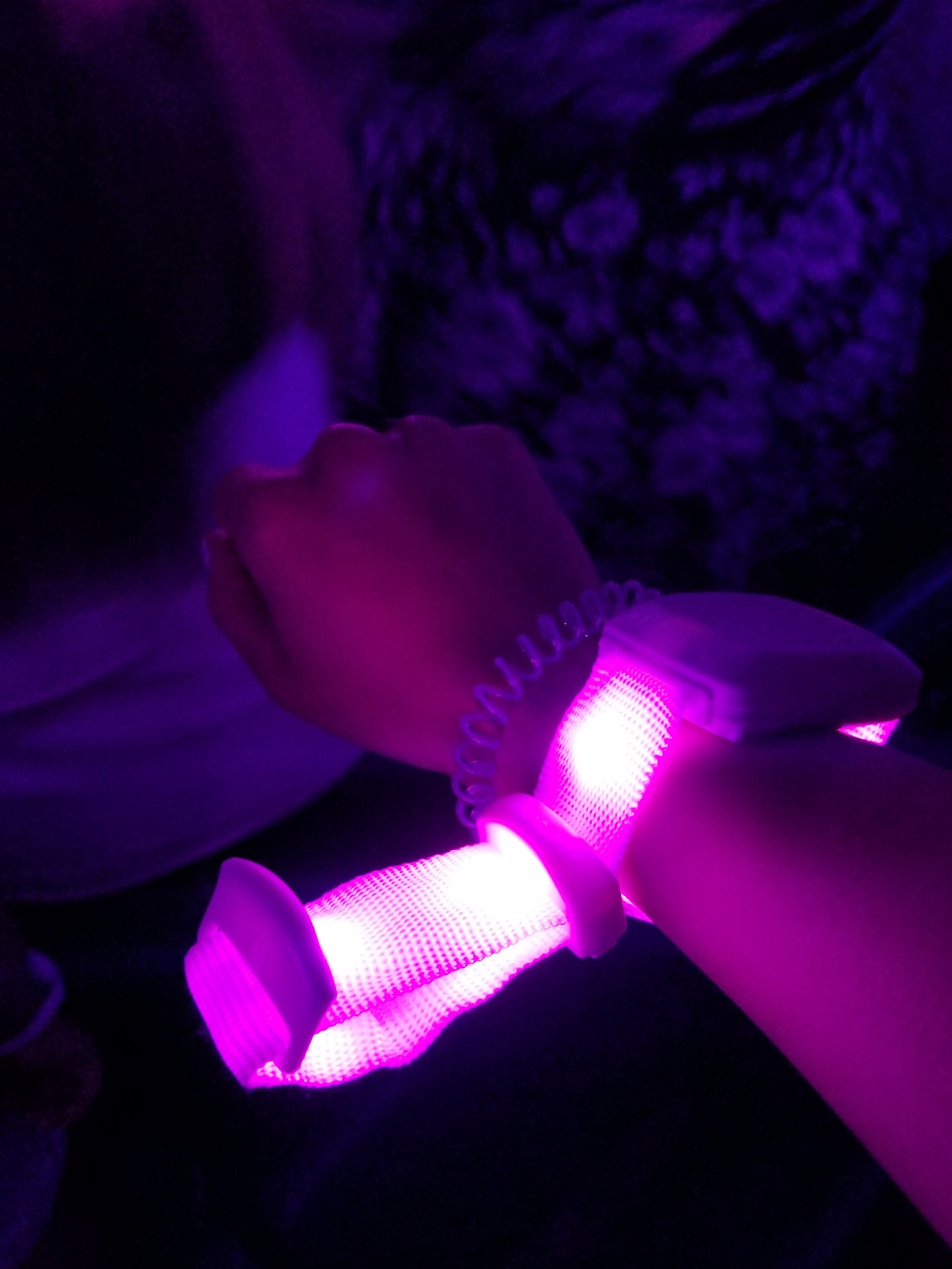 Stadium staff handed out a  Xyloband  to each concertgoer | ebbony&lune