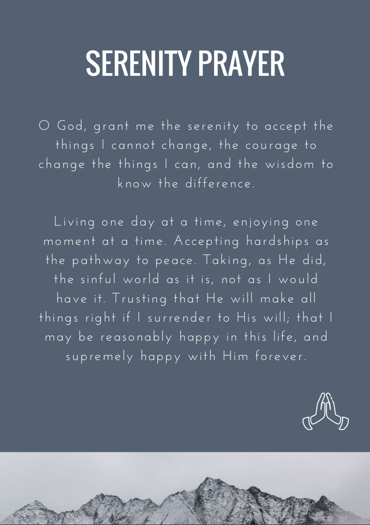 God Is Good - Serenity Prayer.png