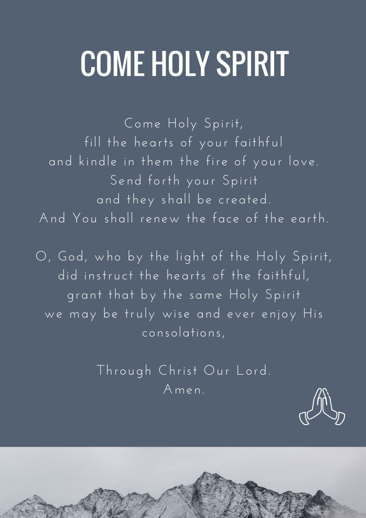 God Is Good - Come Holy Spirit.png