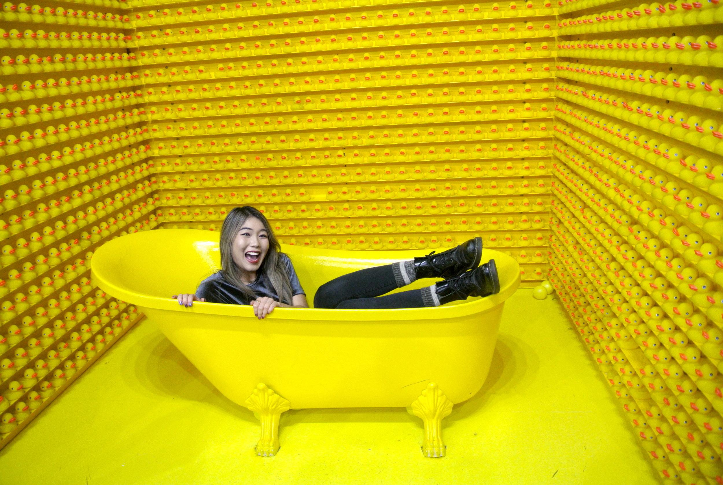 Rubber Ducky Bathtub