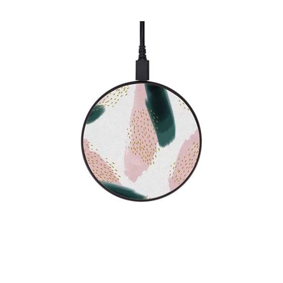pink pine wireless charging pad