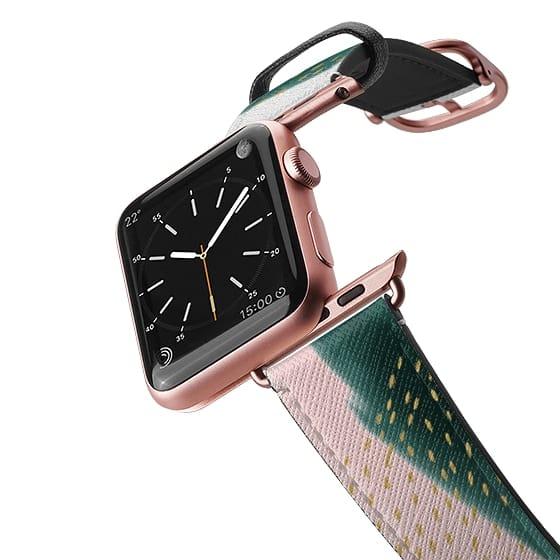pink pine Apple Watch band