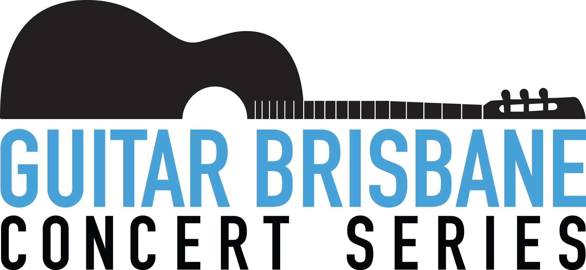 Guitar Brisbane Logo designed by Sheridan Tully