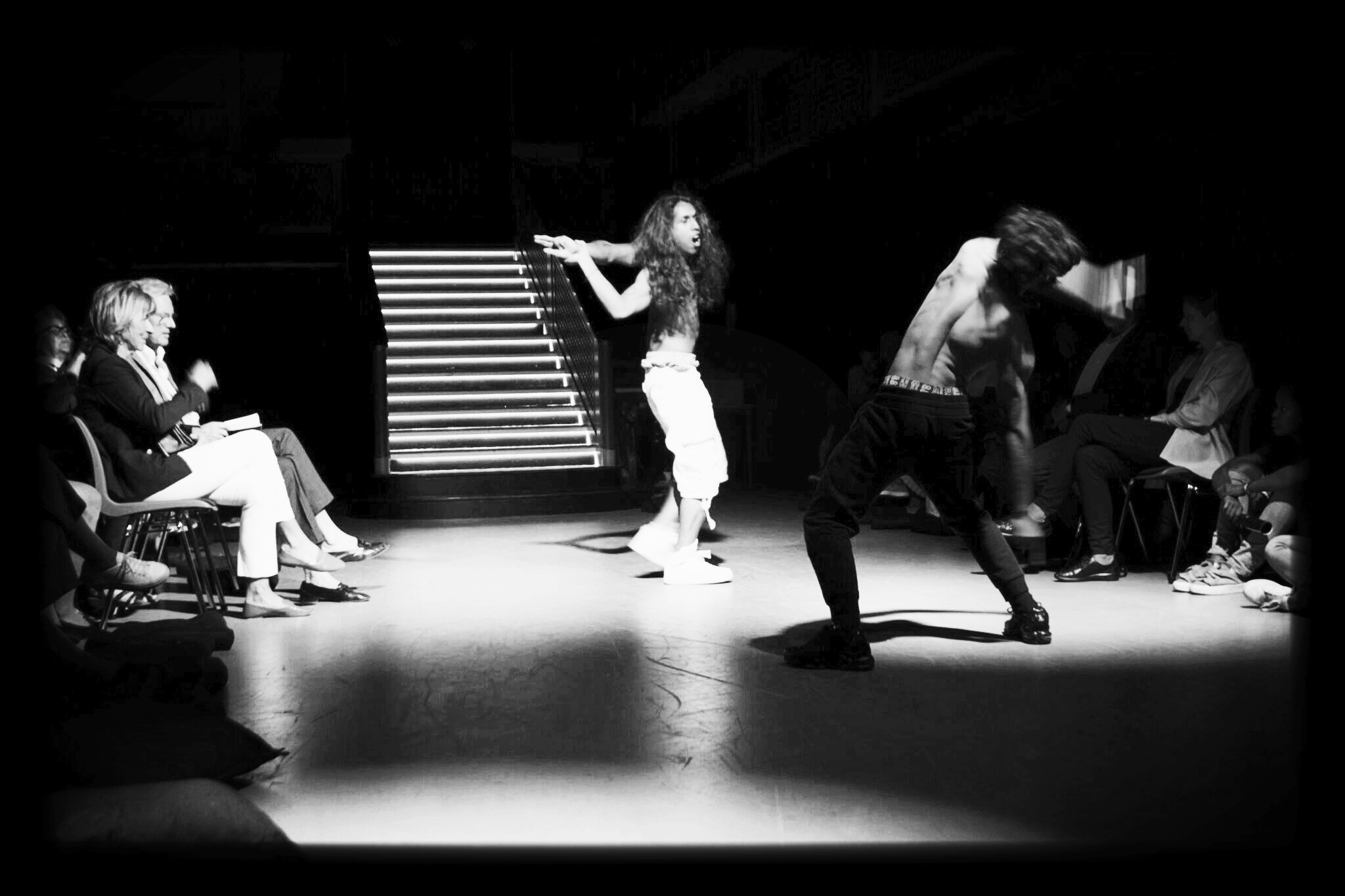 Flex to World - (Theatre Company) Dance-stage-production:Our Teaching Artists perform as company - showcasing thier talents in staged and unscripted performances. In 2016 Artists performed at Kunble Theater BK, 2017 Artists performed FLEX-Hyperborealis at Sentralen (The Vault) in Oslo, and 2019 at BRIC BK. The production chronicles Apollo's mythical journey to Hyperborea, The Land Beyond the North Wind.