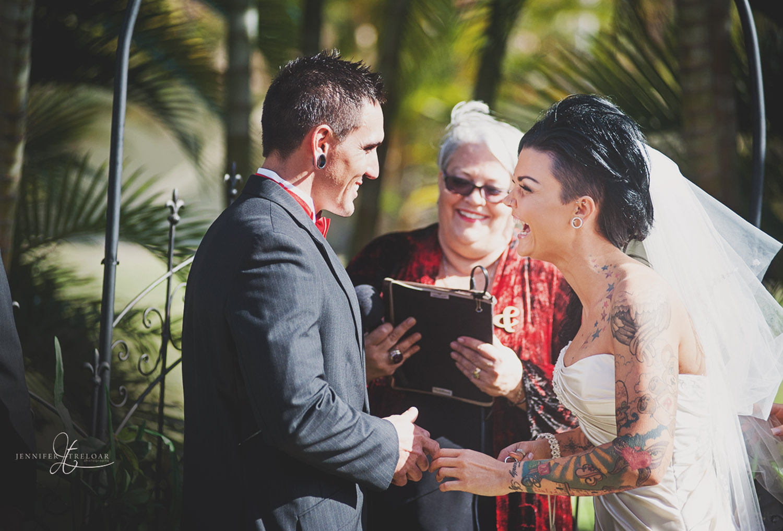 Celebrant for Mackay Wedding