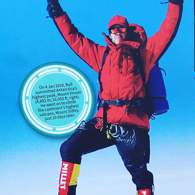 I'm excited to be in the latest edition of the Guinness World Records, just inside the front cover!  #Everest #WorldRecord #GWR2019