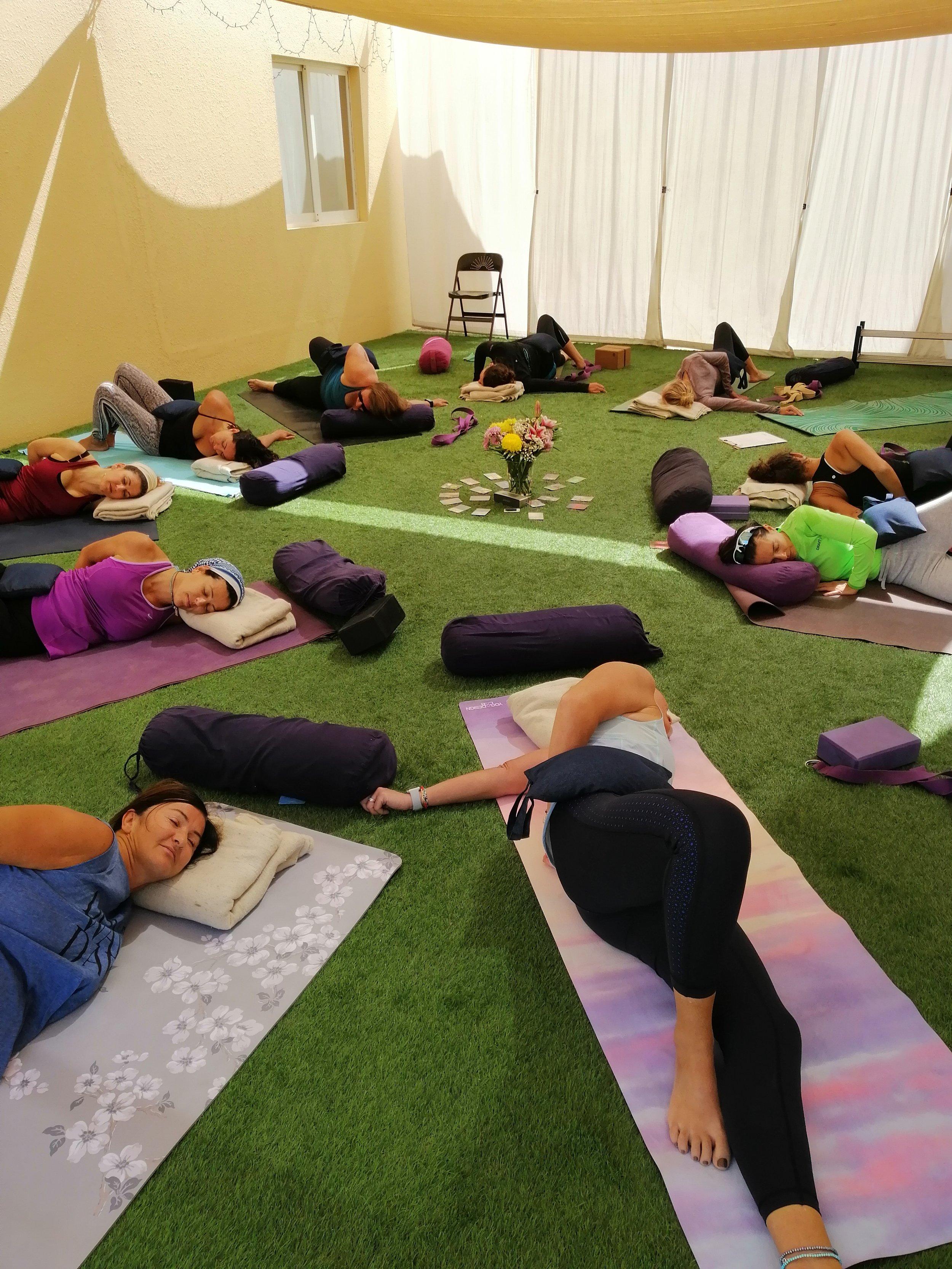 Garden Yin Yoga