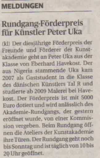 Rheinische Post 16. Februar 2017