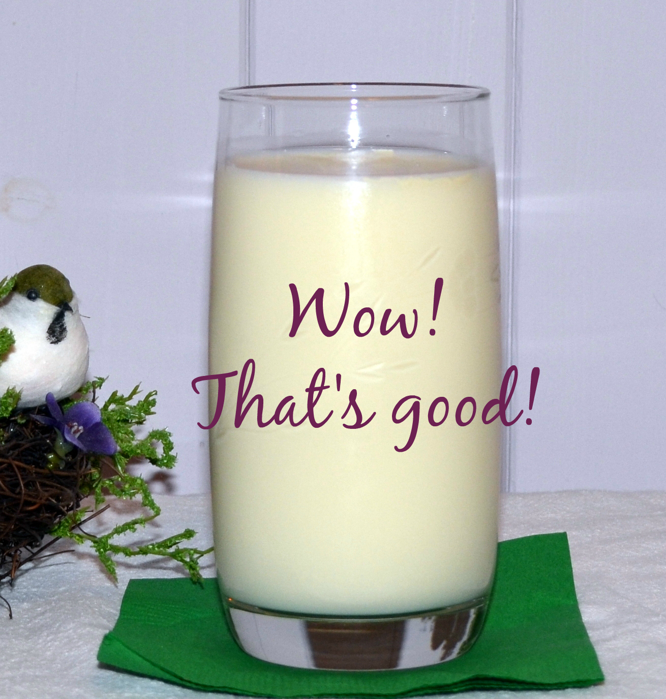 Cinnamon's milk is everybody's favorite on my farm.