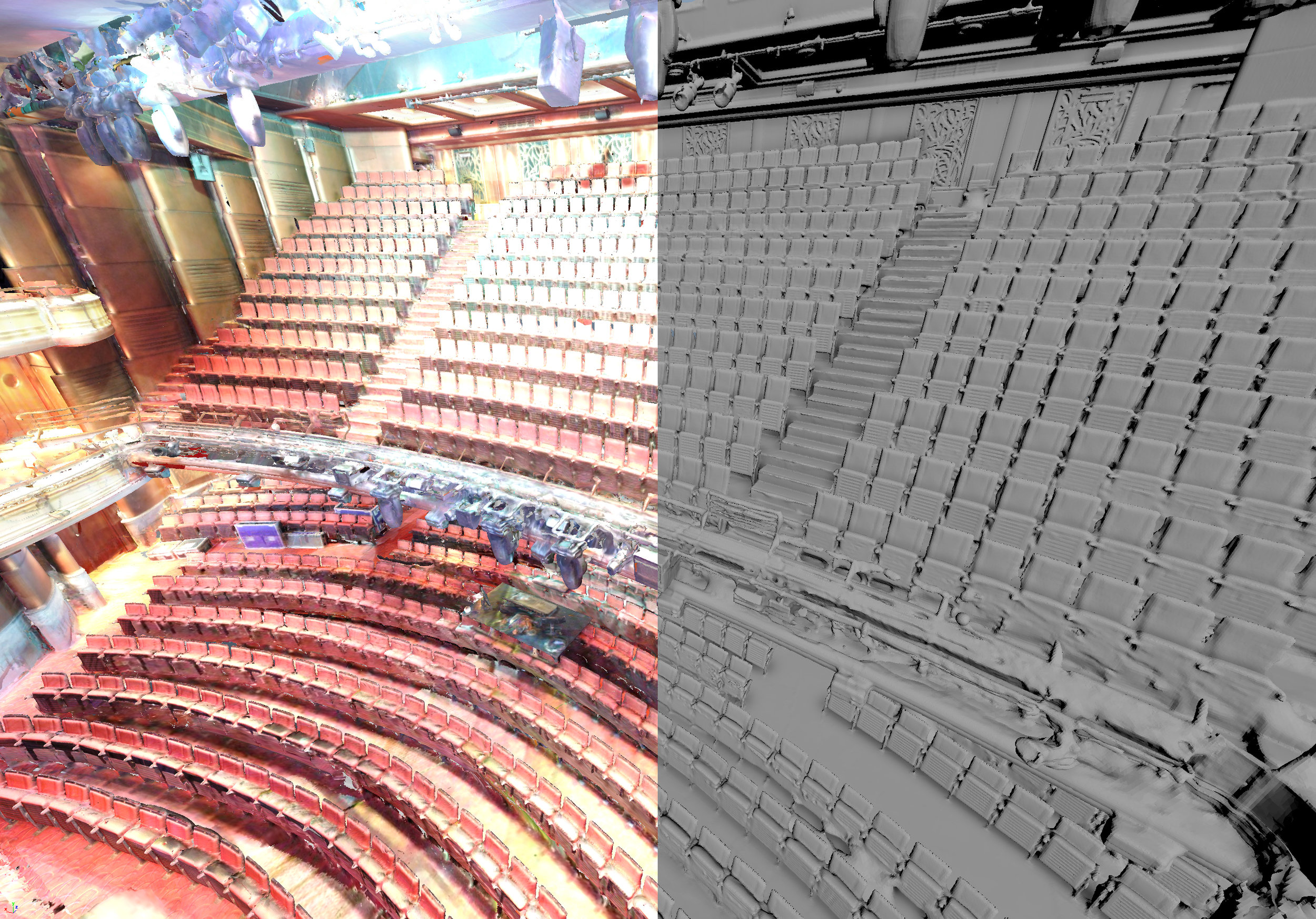 Prince of Wales Theatre Laser Scan