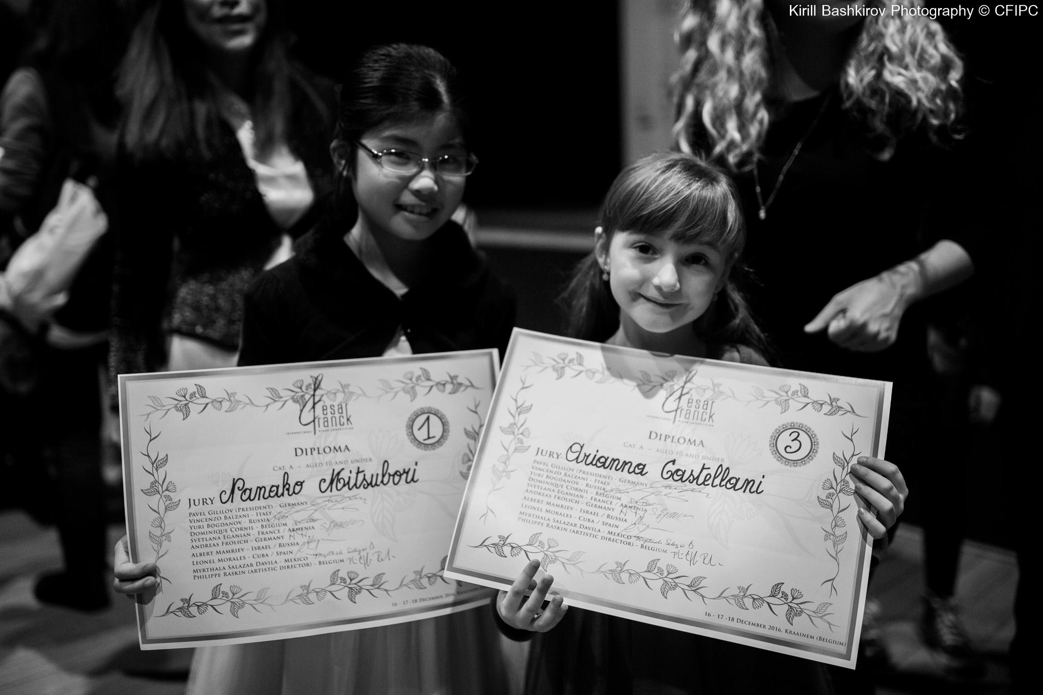 Nanako MITSUBORI (Japan) & Arianna Castellani (Italy)