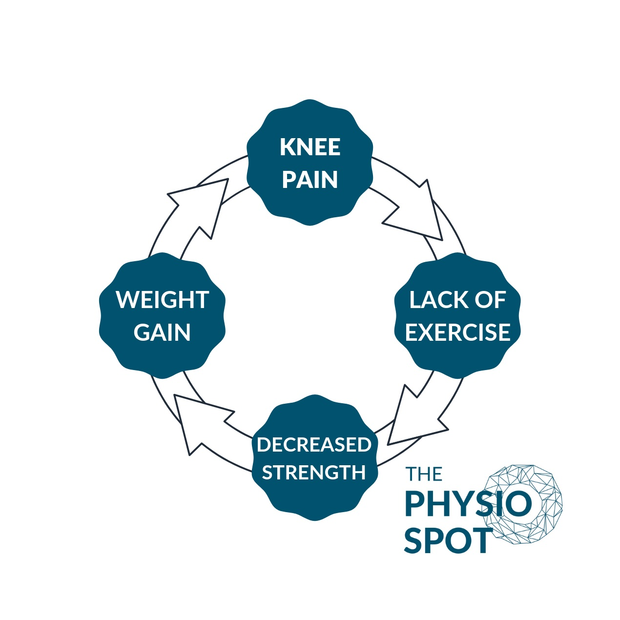 THE VICIOUS CYCLE OF KNEE PAIN
