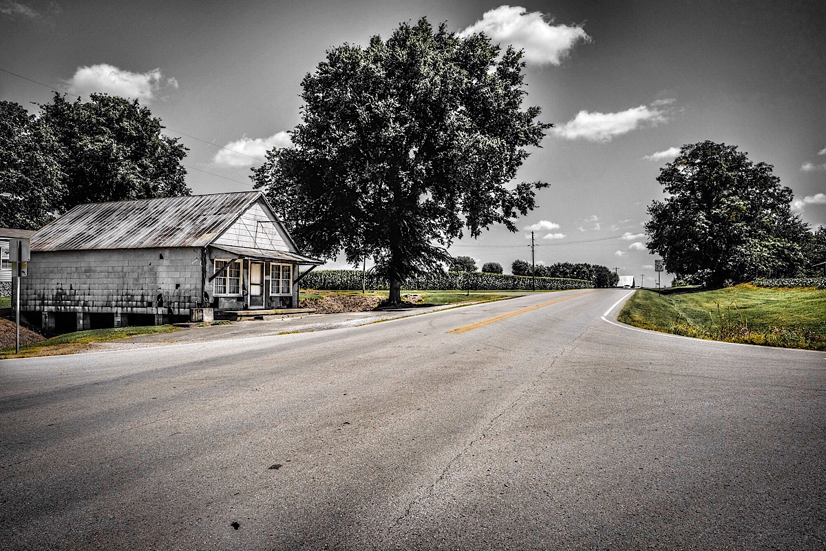 At the Crossroads: part of the  American Dream  series.