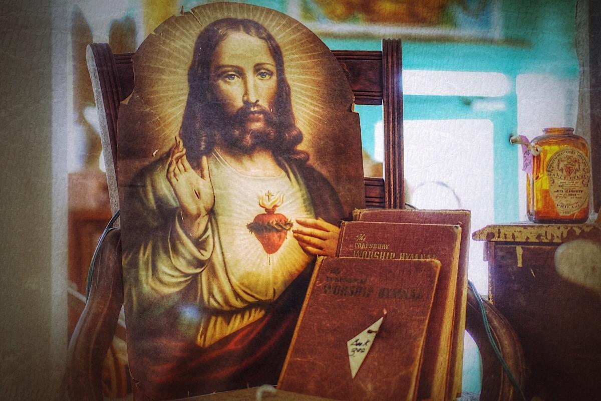 Antique Jesus