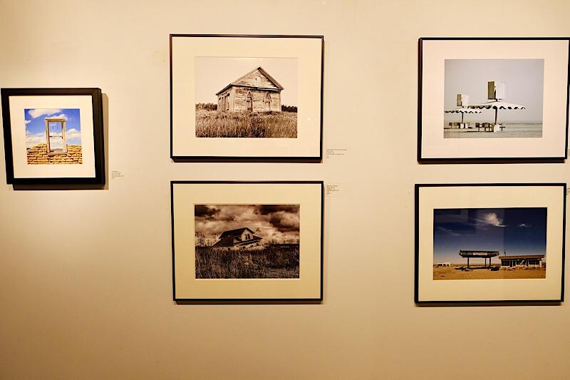 Several Photographs in the  Forsaken Exhibition , including my photograph  American Dream  (bottom left).