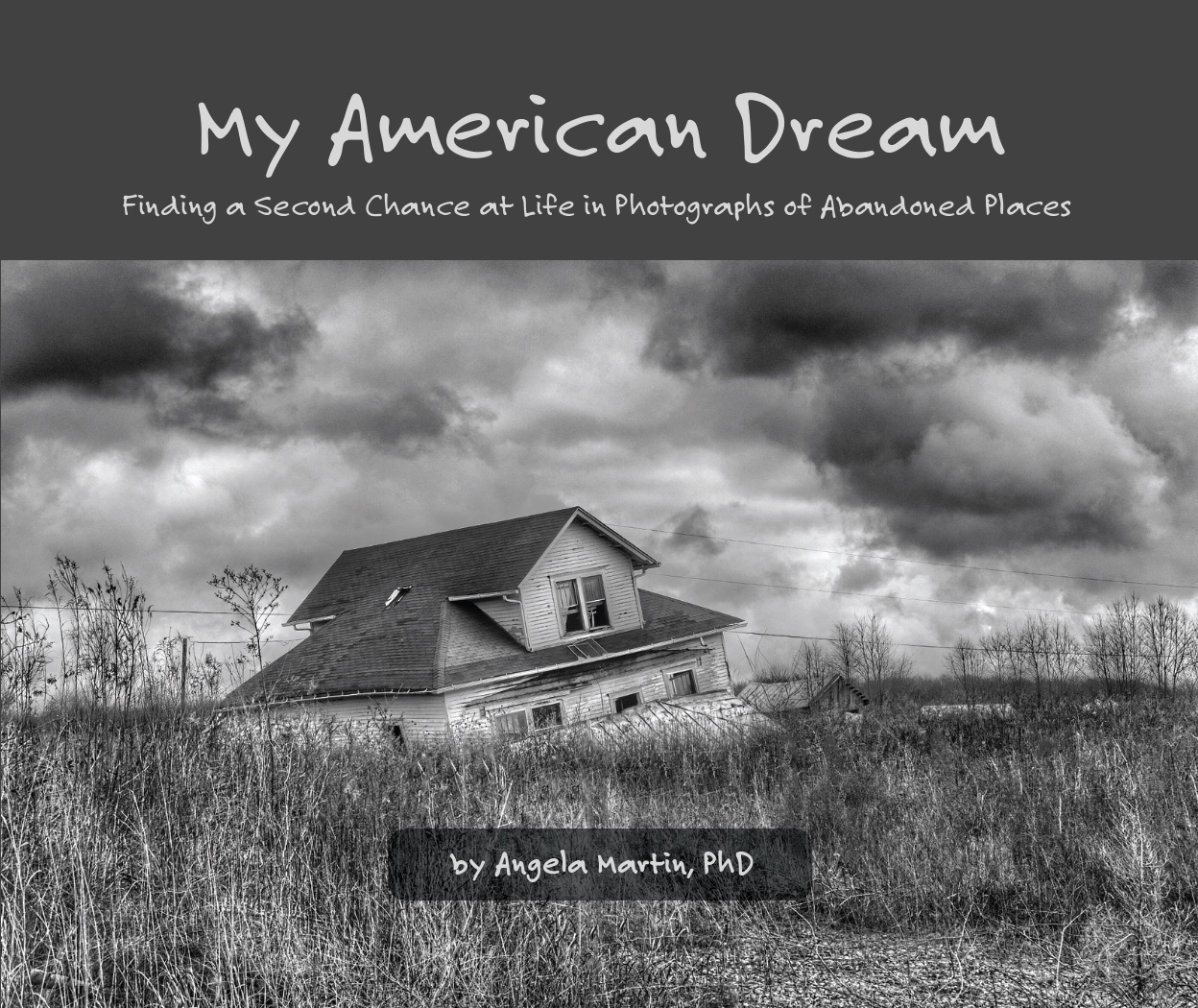 My American Dream 1st Hardback Edition front cover.   (click to enlarge)