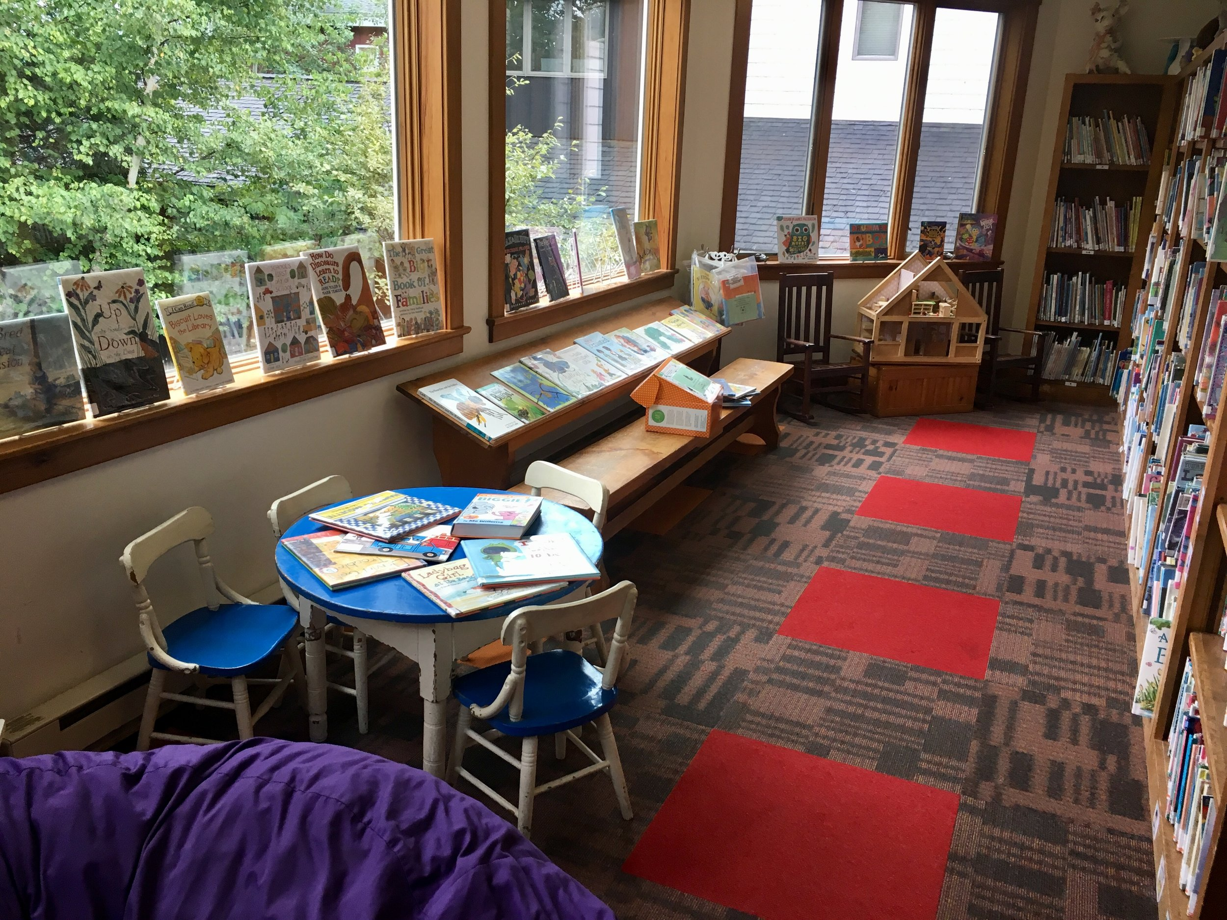 Lake placid library -