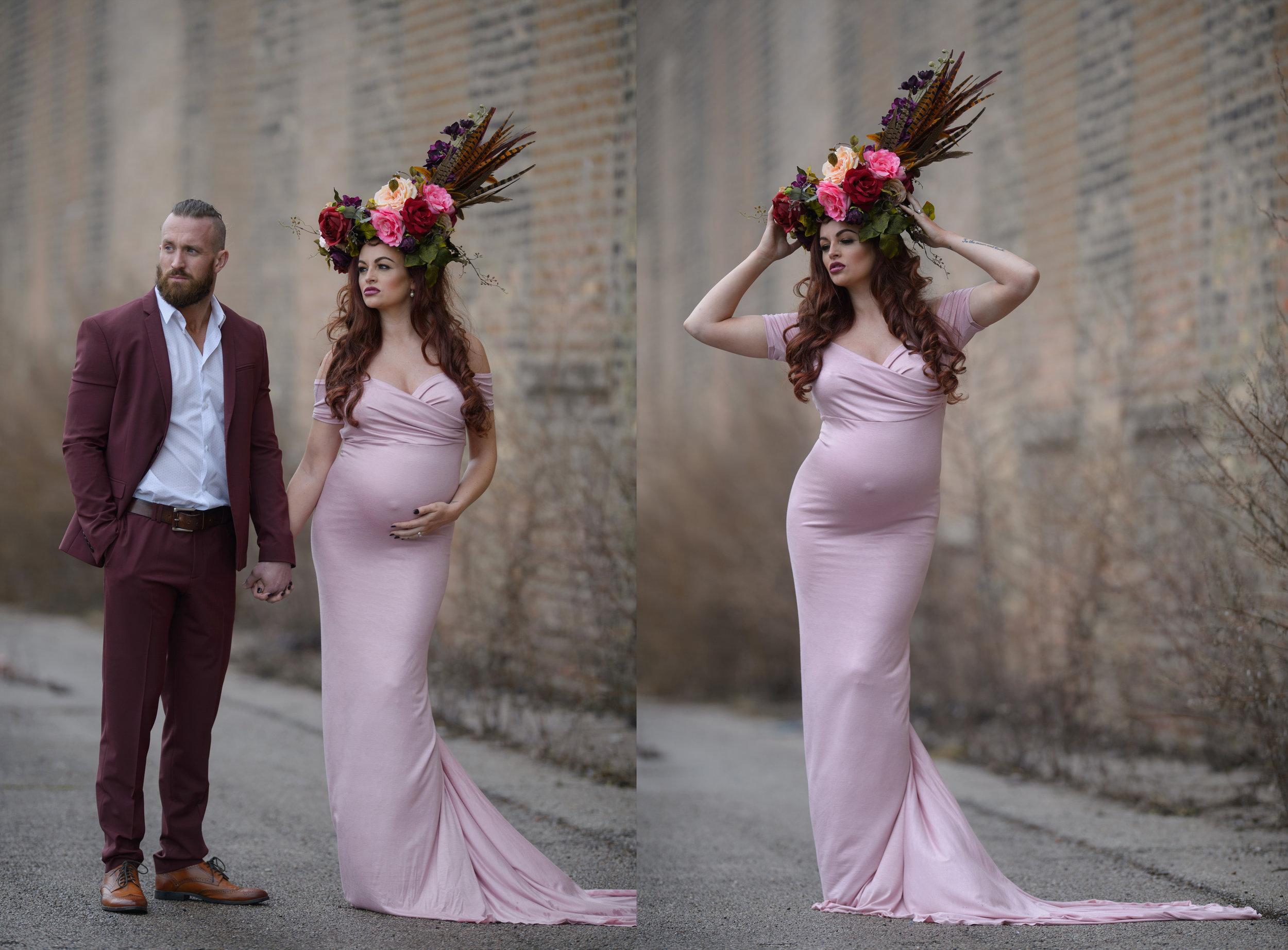 Chicago-Modern-husband-wife-Pregnancy-Photographer.jpg