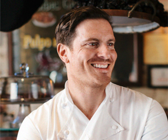 Chef Seamus Mullen is an award-winning New York chef, restaurateur, cookbook author, and fitness personality.