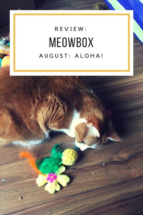 August Meowbox: Aloha!