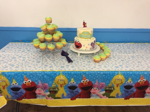 Seseme street cake