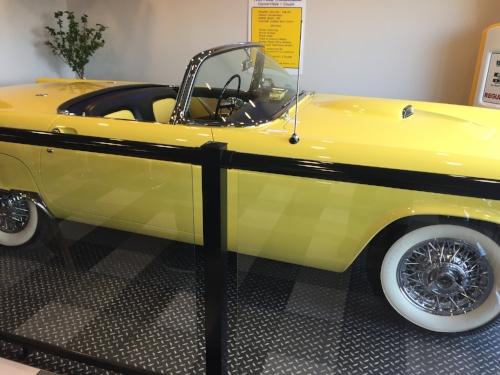 Vintage car at Vernon's Diner