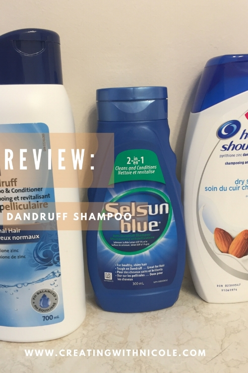 Review dandruff shampoo