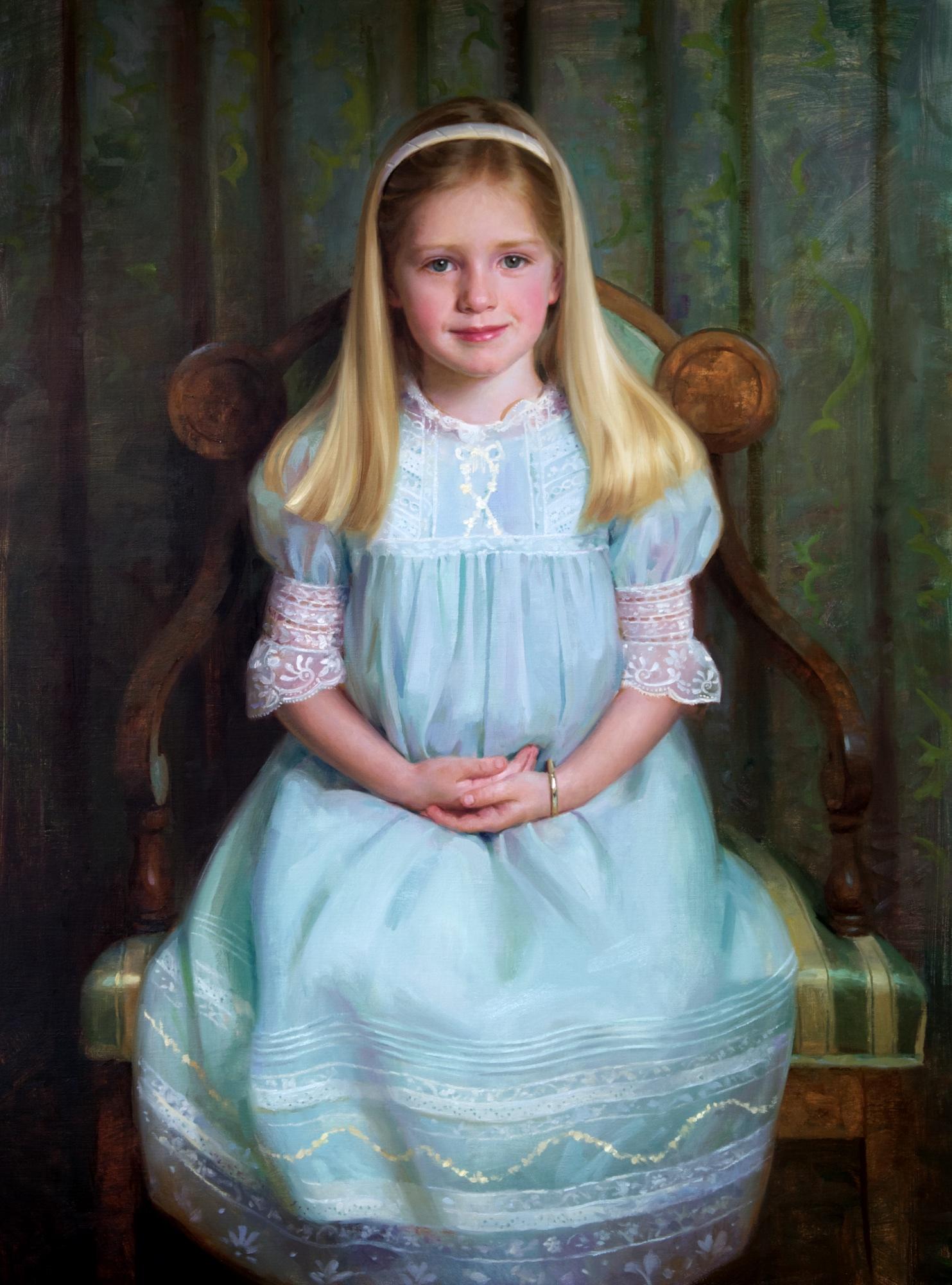 Marguerite  40x30  Oil by James Tennison.jpg