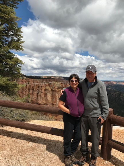 At Byrce Canyon while on The Red Rock Road Trip of 2018